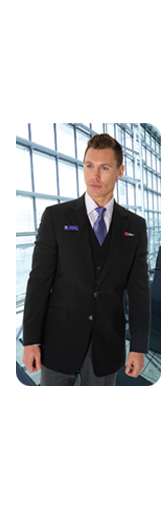 Having supplied Jetstar and Virgin uniforms, Dina Corporate provides a complete corporate uniform and business wear wardrobe management solution to a diverse range of enterprises including airlines, tourism & hospitality, telecommunications & finance.