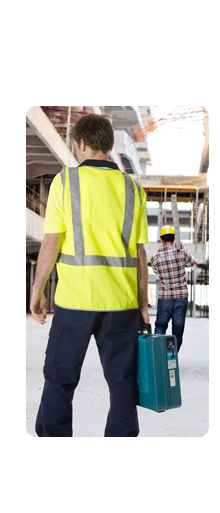 Dina Corporate offers a full range of industrial work wear including high visibility (hi-vis) safety wear, protective clothing, jackets, rainwear and flame retardant garments & uniforms.